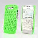 Coque Nokia E71 Filet Plastique Etui Rigide - Verte