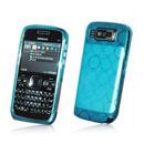 Coque Nokia E72 Cercle Gel TPU Housse - Bleu