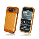 Coque Nokia E72 Cercle Gel TPU Housse - Orange