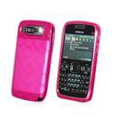 Coque Nokia E72 Cercle Gel TPU Housse - Rose Chaud