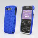 Coque Nokia E72 Filet Plastique Etui Rigide - Bleu