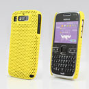 Coque Nokia E72 Filet Plastique Etui Rigide - Jaune