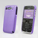 Coque Nokia E72 Filet Plastique Etui Rigide - Pourpre