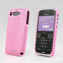 Coque Nokia E72 Filet Plastique Etui Rigide - Rose