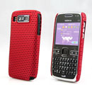 Coque Nokia E72 Filet Plastique Etui Rigide - Rouge