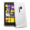 Coque Nokia Lumia 1020 S-Line Silicone Gel Housse - Blanche