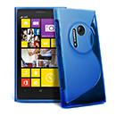 Coque Nokia Lumia 1020 S-Line Silicone Gel Housse - Bleu