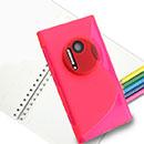 Coque Nokia Lumia 1020 S-Line Silicone Gel Housse - Rose Chaud