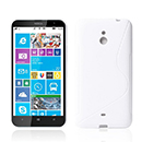 Coque Nokia Lumia 1320 S-Line Silicone Gel Housse - Blanche