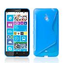 Coque Nokia Lumia 1320 S-Line Silicone Gel Housse - Bleu
