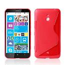 Coque Nokia Lumia 1320 S-Line Silicone Gel Housse - Rose Chaud