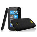 Coque Nokia Lumia 510 Sables Mouvants Etui Rigide - Noire