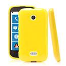 Coque Nokia Lumia 510 Silicone Gel Housse - Jaune