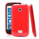 Coque Nokia Lumia 510 Silicone Gel Housse - Rouge