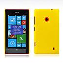 Coque Nokia Lumia 520 Plastique Etui Rigide - Jaune