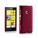 Coque Nokia Lumia 520 Plastique Etui Rigide - Rouge