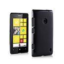 Coque Nokia Lumia 525 Silicone Transparent Housse - Noire