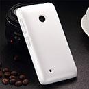 Coque Nokia Lumia 530 Plastique Etui Rigide - Blanche