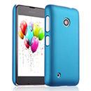 Coque Nokia Lumia 530 Plastique Etui Rigide - Bleue Ciel