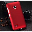 Coque Nokia Lumia 530 Plastique Etui Rigide - Rouge
