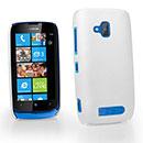 Coque Nokia Lumia 610 Plastique Etui Rigide - Blanche