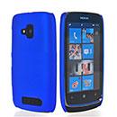 Coque Nokia Lumia 610 Plastique Etui Rigide - Bleu