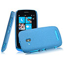 Coque Nokia Lumia 610 Sables Mouvants Etui Rigide - Bleu