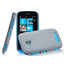 Coque Nokia Lumia 610 Sables Mouvants Etui Rigide - Gris