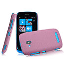 Coque Nokia Lumia 610 Sables Mouvants Etui Rigide - Rouge