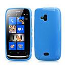 Coque Nokia Lumia 610 Silicone Gel Housse - Bleu