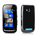 Coque Nokia Lumia 610 Silicone Gel Housse - Noire