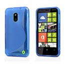 Coque Nokia Lumia 620 S-Line Silicone Gel Housse - Bleue Ciel