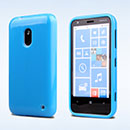 Coque Nokia Lumia 620 Silicone Gel Housse - Bleu