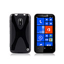 Coque Nokia Lumia 620 X-Line Silicone Gel Housse - Noire