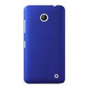Coque Nokia Lumia 630 Plastique Etui Rigide - Bleu
