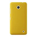 Coque Nokia Lumia 630 Plastique Etui Rigide - Jaune