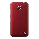 Coque Nokia Lumia 630 Plastique Etui Rigide - Rouge