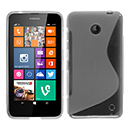 Coque Nokia Lumia 630 S-Line Silicone Gel Housse - Clear