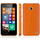 Coque Nokia Lumia 630 Transparent Plastique Etui Rigide - Clear