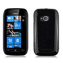 Coque Nokia Lumia 710 Silicone Gel Housse - Noire