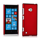 Coque Nokia Lumia 720 Plastique Etui Rigide - Rouge