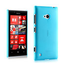 Coque Nokia Lumia 720 Ultrathin Plastique Etui Rigide - Bleu