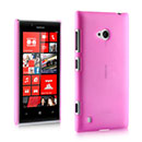 Coque Nokia Lumia 720 Ultrathin Plastique Etui Rigide - Rose