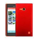 Coque Nokia Lumia 730 Plastique Etui Rigide - Rouge