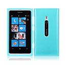 Coque Nokia Lumia 800 Silicone Gel Housse - Bleue Ciel