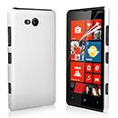 Coque Nokia Lumia 820 Plastique Etui Rigide - Blanche