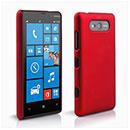 Coque Nokia Lumia 820 Plastique Etui Rigide - Rouge