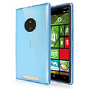 Coque Nokia Lumia 830 Silicone Transparent Housse - Bleue Ciel
