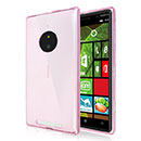 Coque Nokia Lumia 830 Silicone Transparent Housse - Rose