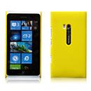 Coque Nokia Lumia 900 Plastique Etui Rigide - Jaune